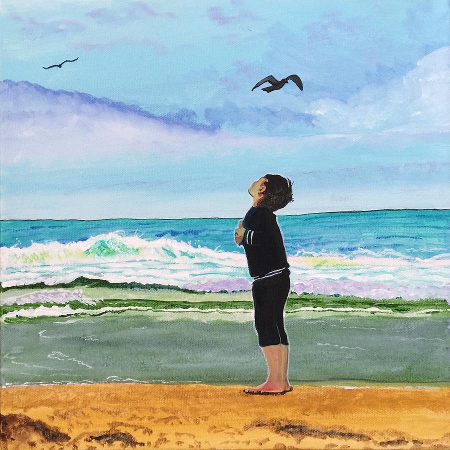 Gazing at Gulls by Sonja Jones