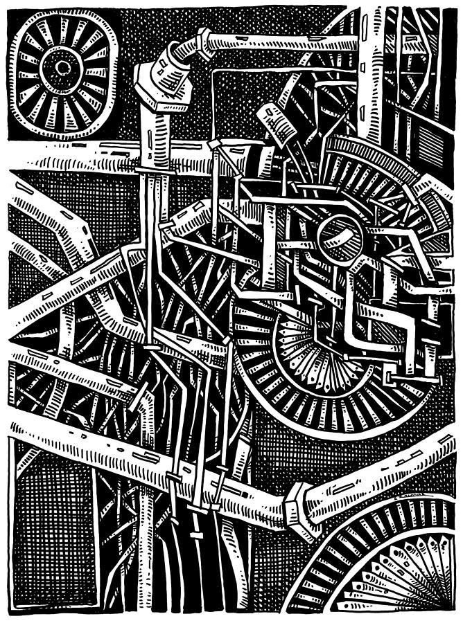 Gears of the universe by Enrique Zaldivar