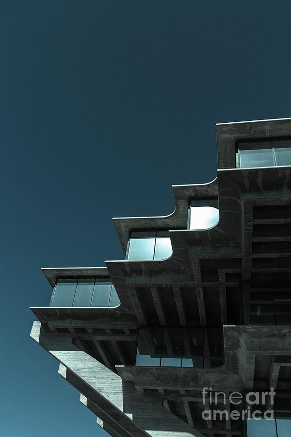 Geisel Library Cold Tone by Edward Fielding