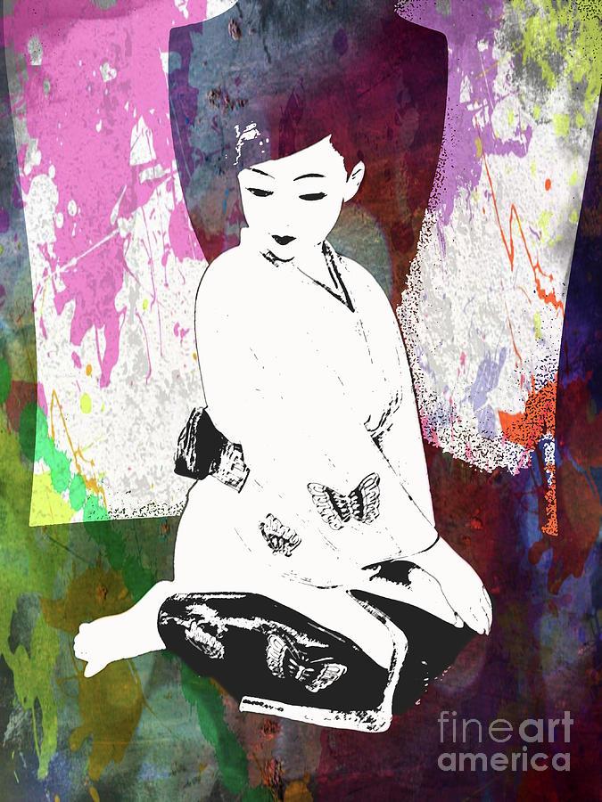 Geisha Photograph - Object Of  Art  by Steven Digman