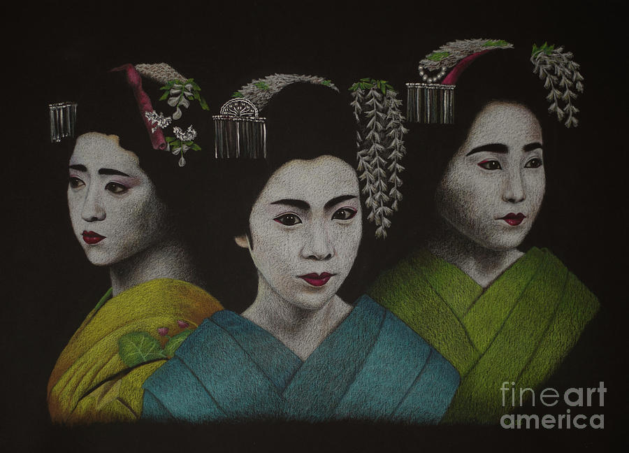 Geisha Girls by Lisa Bliss Rush