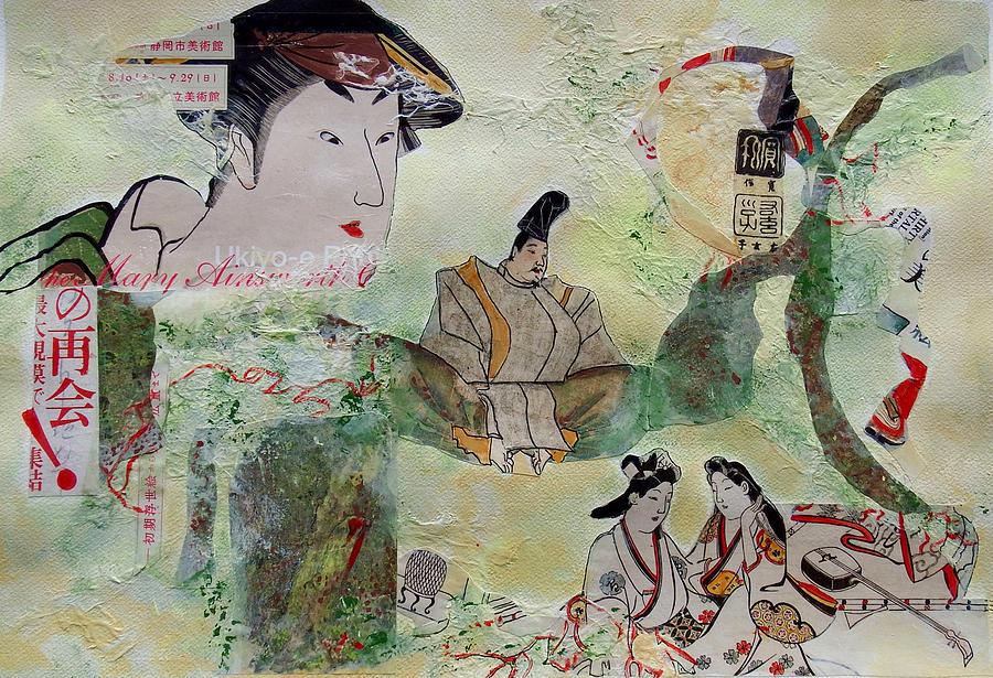 Geisha Meditation by Myra Evans