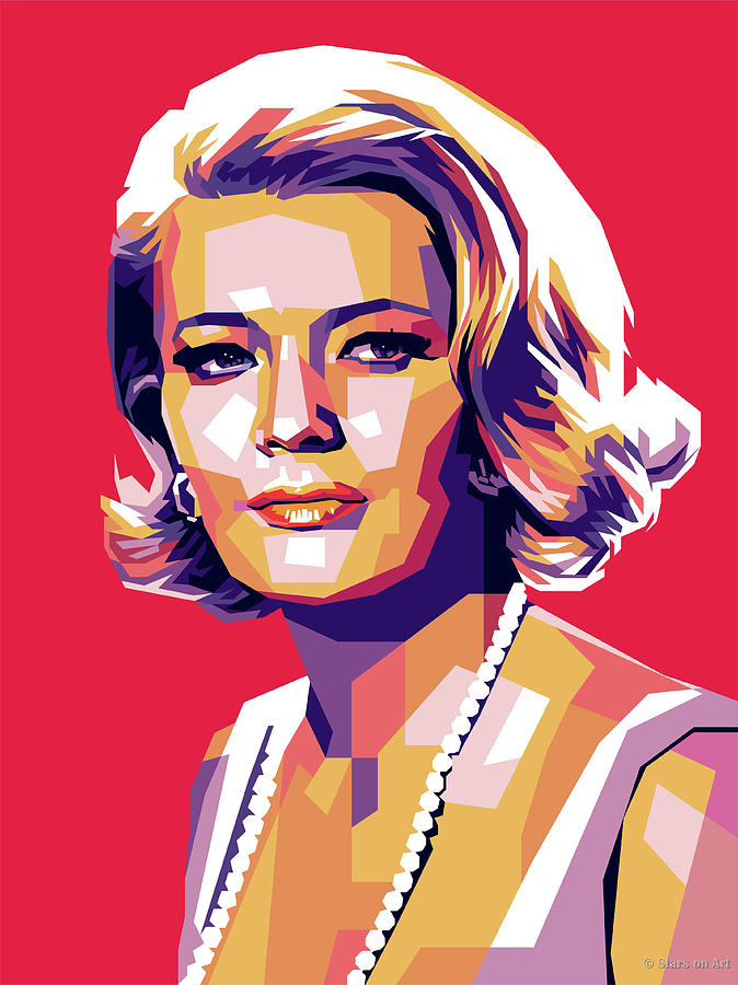 Gena Rowlands Digital Art