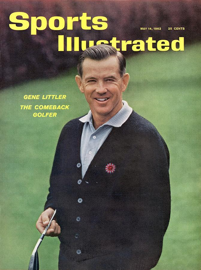 Gene Littler, 1962 Masters Sports Illustrated Cover Photograph by Sports Illustrated