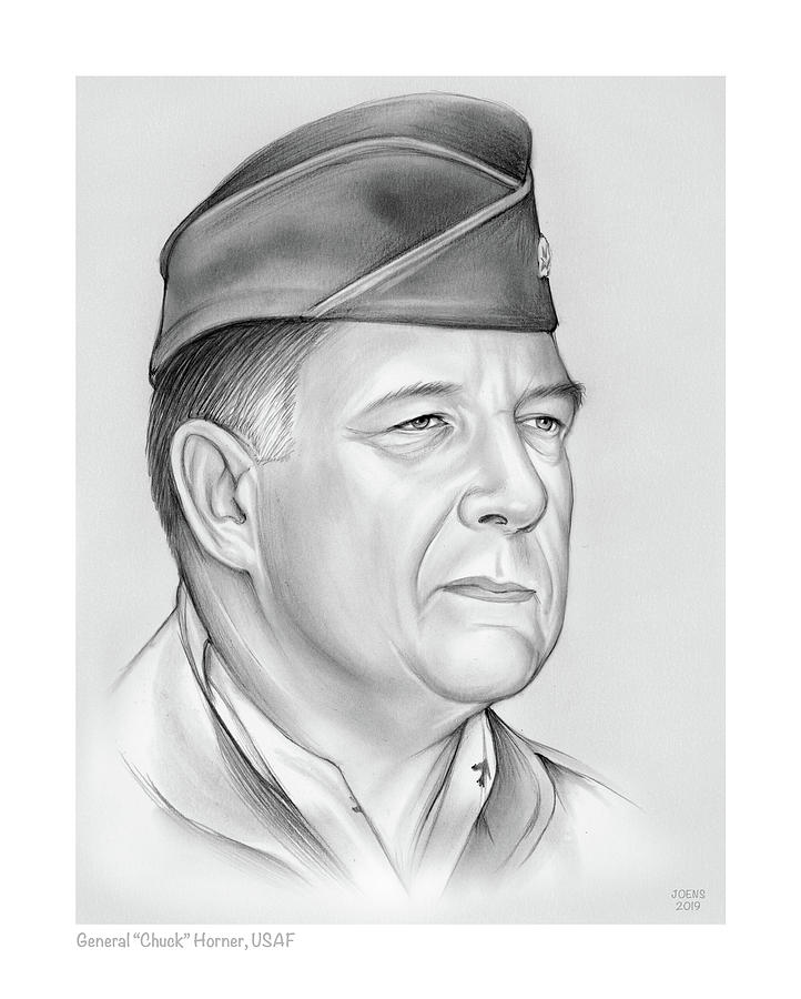 General Chuck Horner by Greg Joens