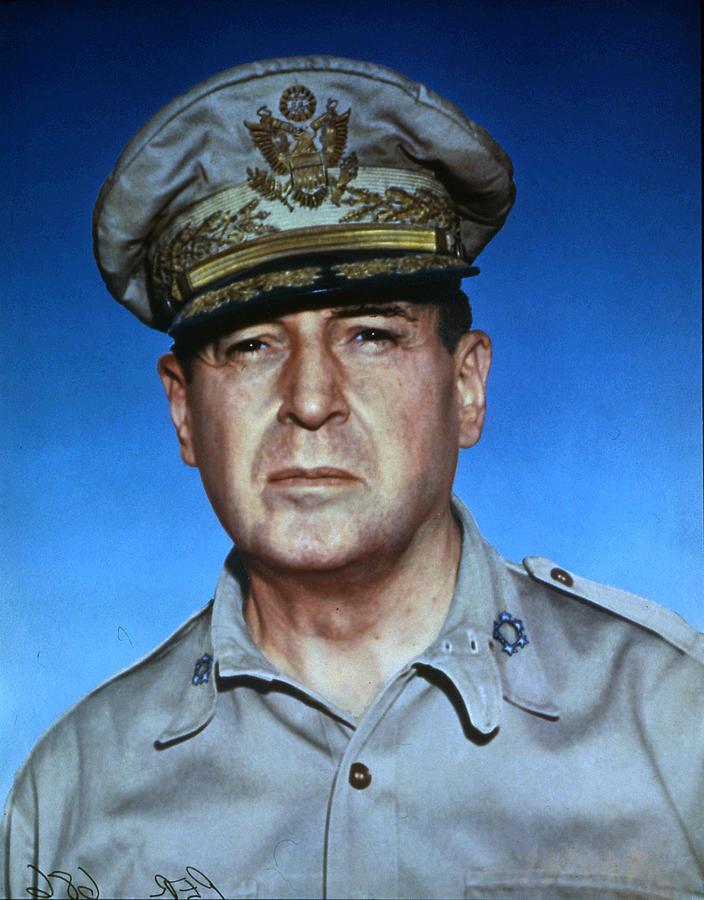 General Douglas Macarthur Photograph by Photoquest