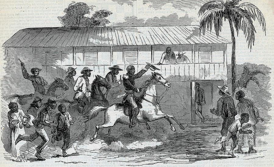 General Gerrard Enters Port-au-prince Photograph by Bettmann
