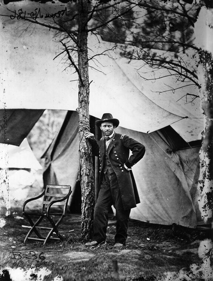 General Grant Photograph by Mathew Brady