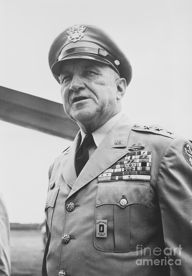 General John Iron-mike Odaniel Photograph by Bettmann