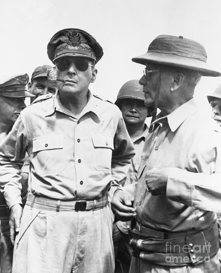 General Macarthur In Philippines Photograph by Bettmann