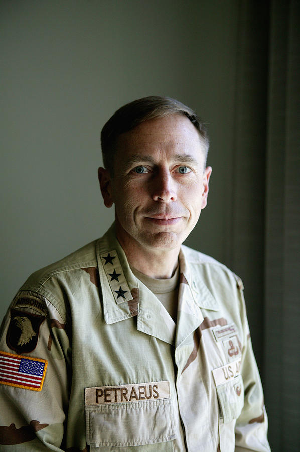 General Petraeus Charged With Photograph by Brent Stirton