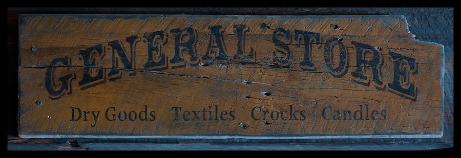General Store Sign by Chris Flees