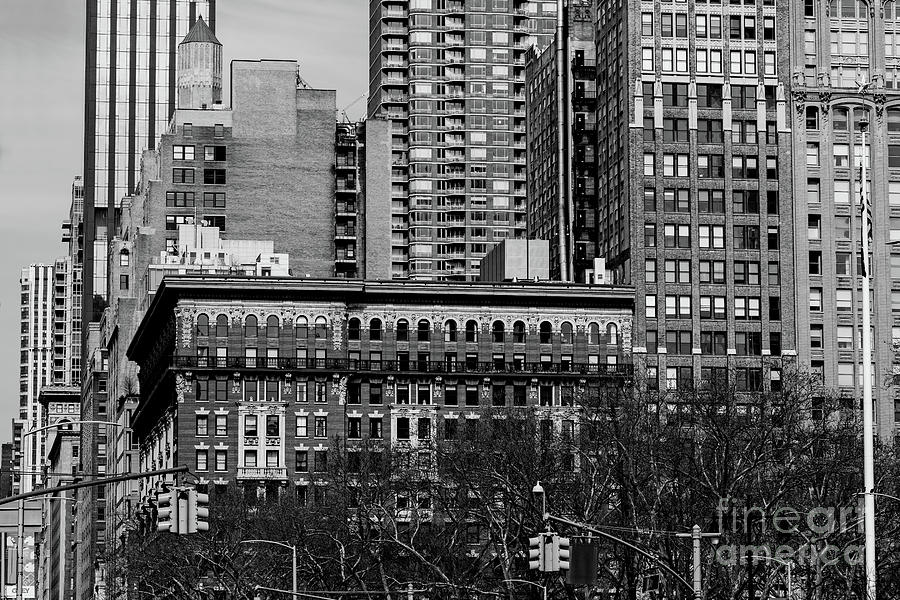 General view of apartment buildings of Madison Square North from by Edi Chen