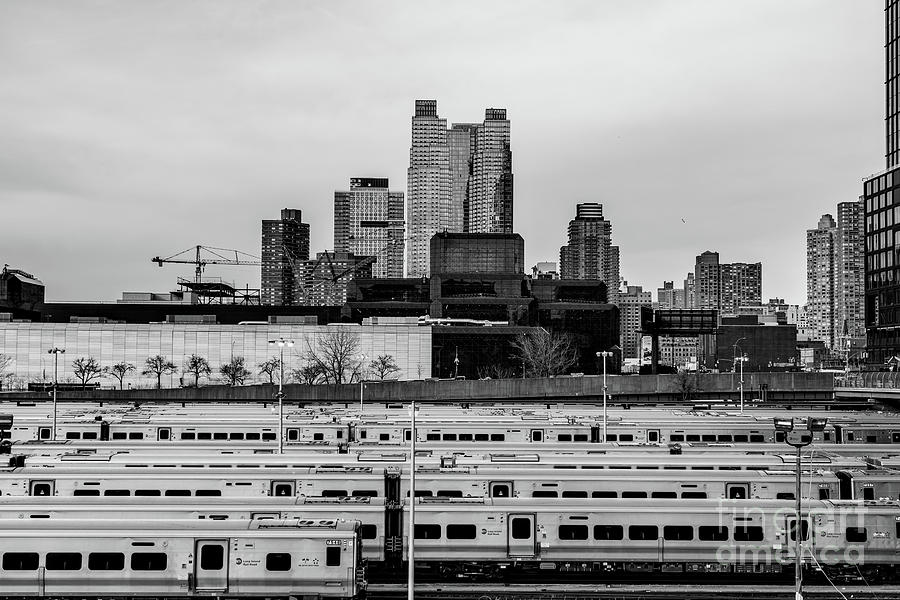 General view of Hudson Yards train depot and buildings of Hell's by Edi Chen