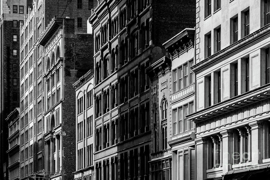 General view of old buildings on 23rd Street in Flatiron Distric by Edi Chen