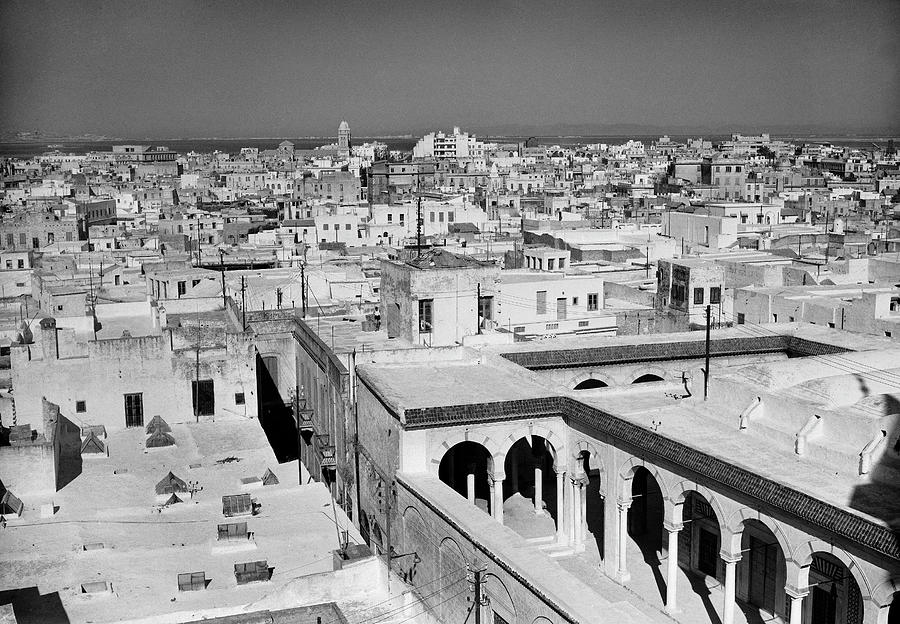 General View Of Tunisia In 1954 Photograph by Keystone-france