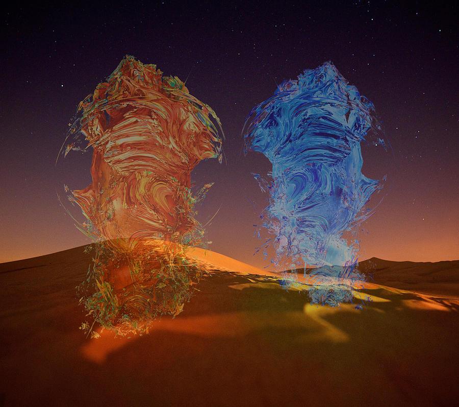 Genies Dance by Alex Mir
