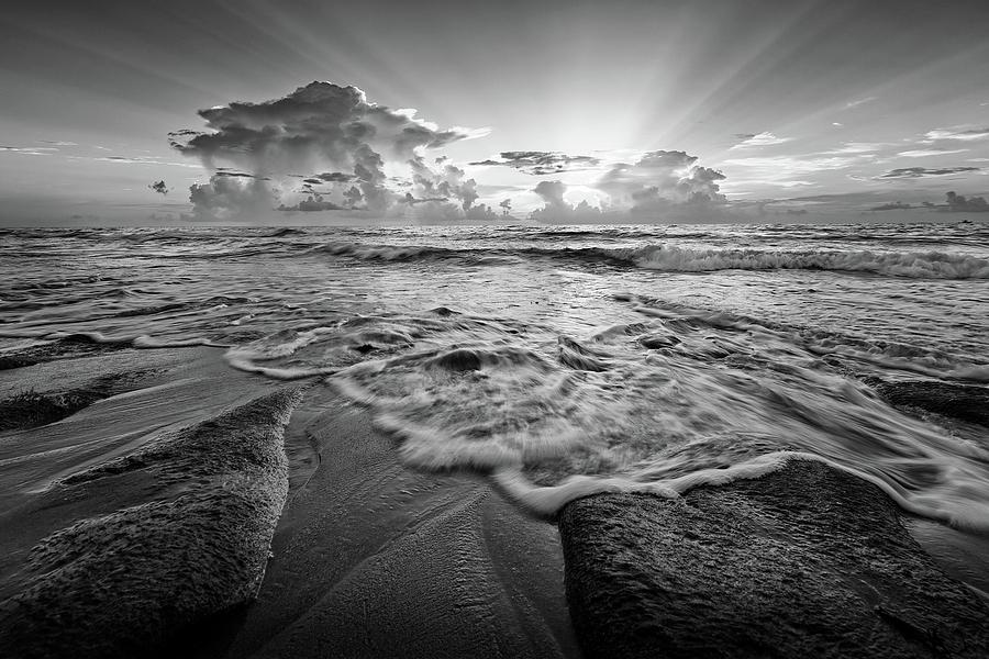 Beach Photograph - Gentle Surf by Steve DaPonte
