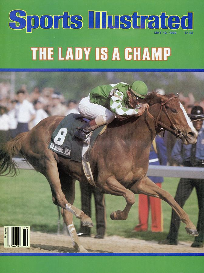Genuine Risk, 1980 Kentucky Derby Sports Illustrated Cover Photograph by Sports Illustrated