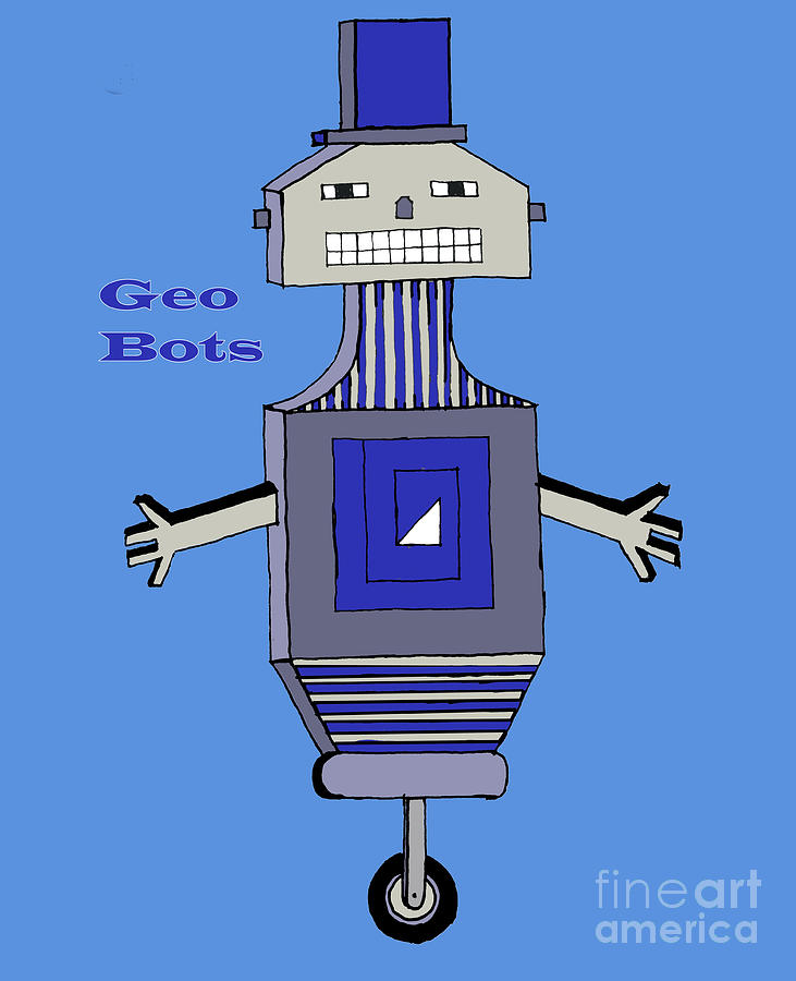 GeoBot Smiles by Eric Pearson