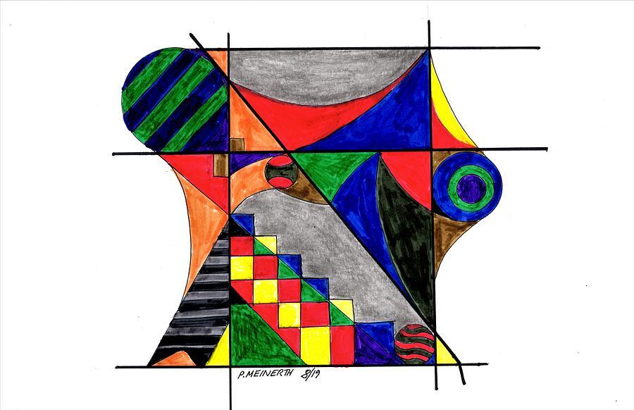 Geometric Design Drawing
