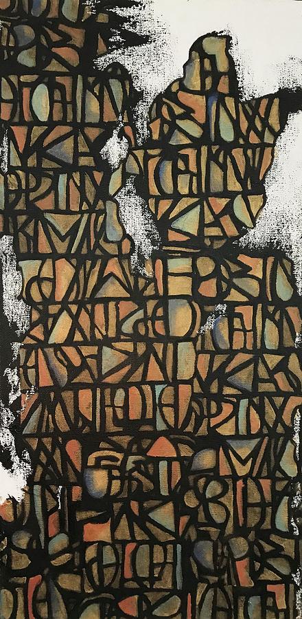 Geometric pattern  by Hila Abada