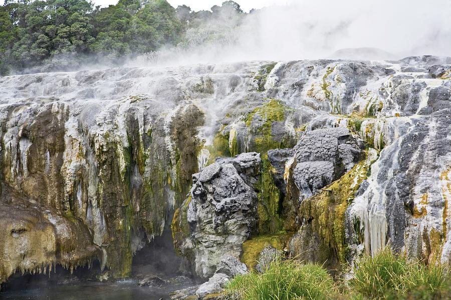 Geomorphic Hot Pools In Rotorua, New Photograph by Design Pics