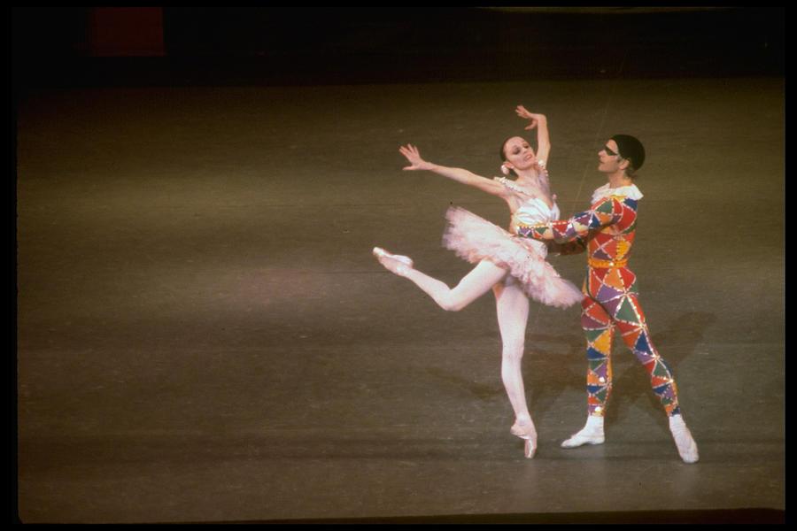 George Balanchine Misc.mikhail Photograph by Gjon Mili