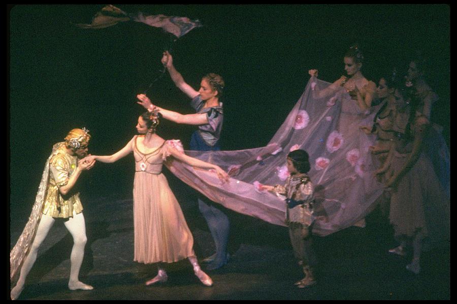 George Balanchine Misc.peter Photograph by Gjon Mili
