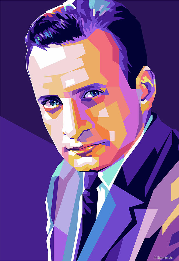 George C. Scott by Stars on Art