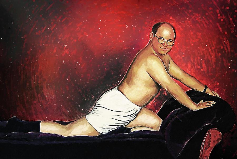 George Costanza Digital Art