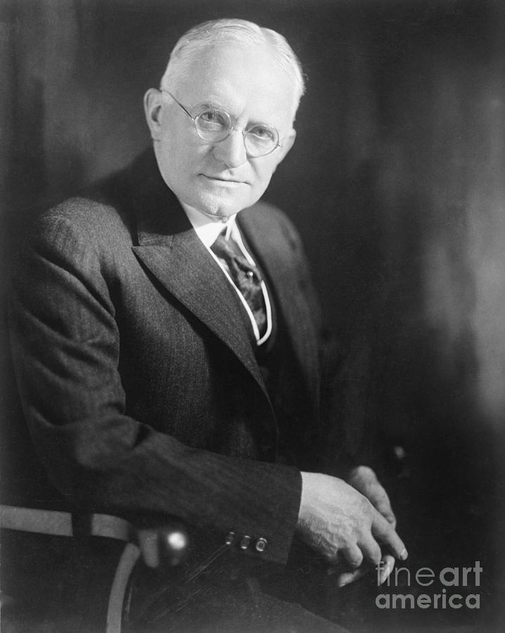 George Eastman Of Eastman Kodak Company By Bettmann