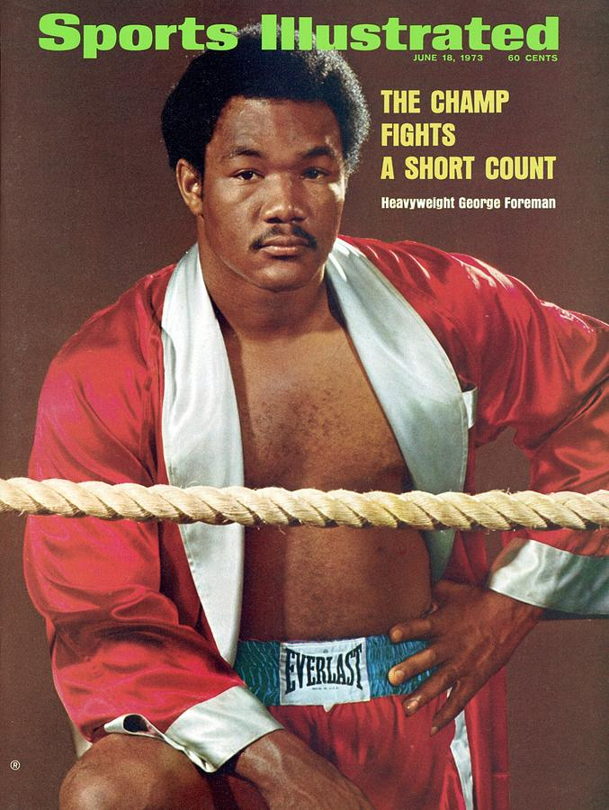 George Foreman, Heavyweight Boxing Sports Illustrated Cover Photograph by Sports Illustrated