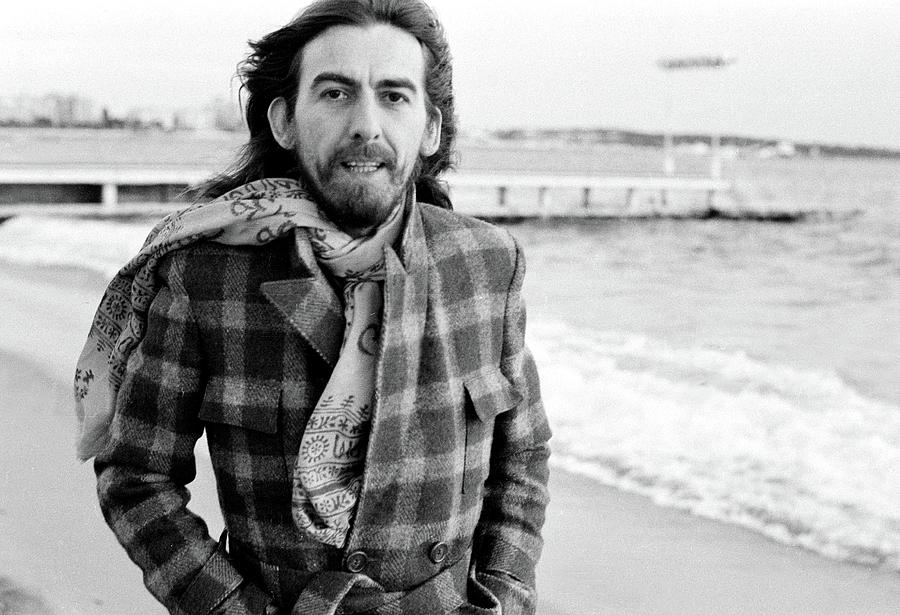 George Harrison In Cannes Photograph by Michael Putland