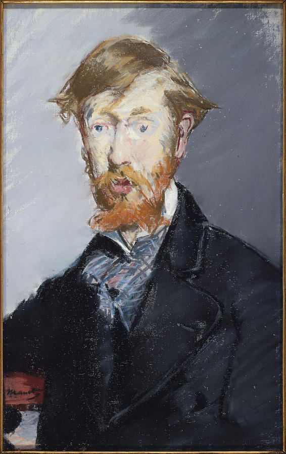Edouard Manet Painting - George Moore        by Edouard Manet