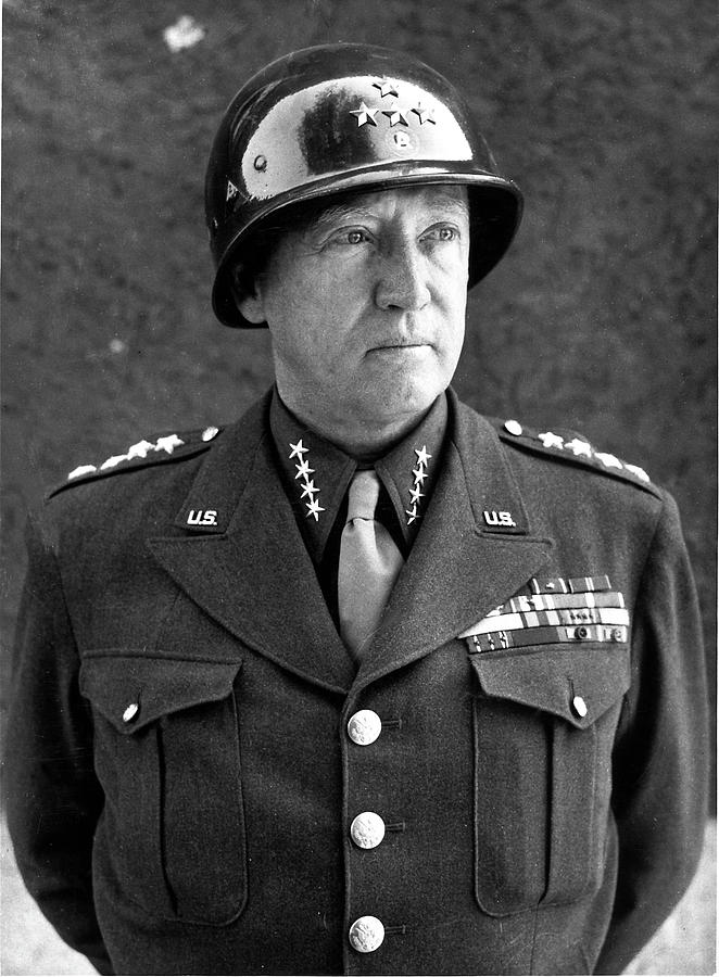 George S. Jr. Patton Photograph by Time Life Pictures