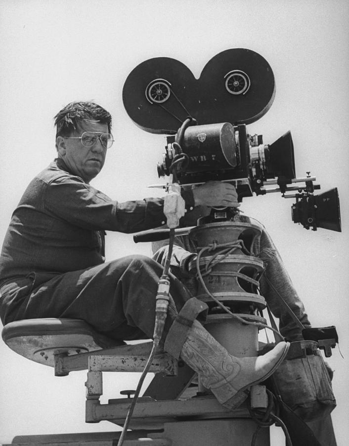 George Stevens Photograph by Allan Grant