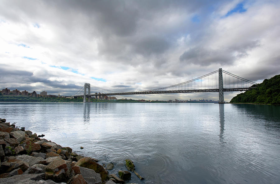 George Washington Bridge, New York Photograph by Ryan Mcvay