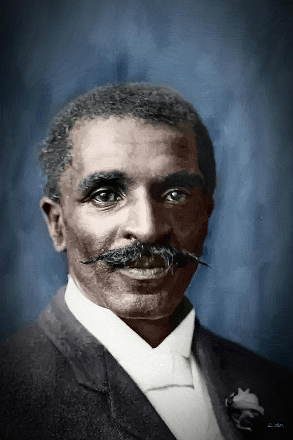George Washington Carver - DWP1441200 by Dean Wittle