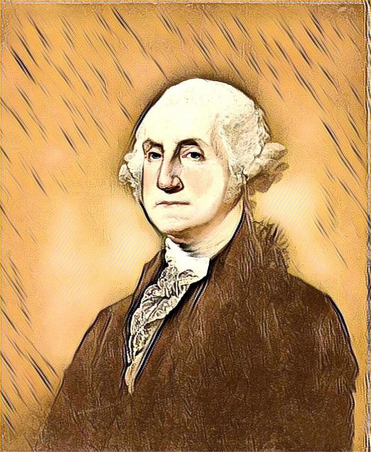 George Washington Digital Art