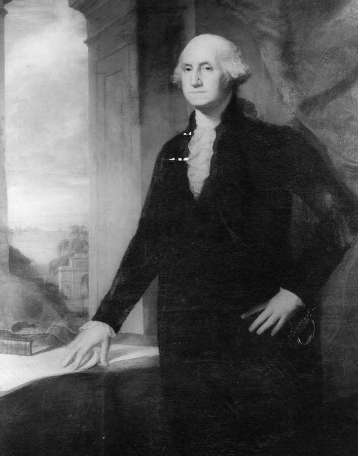George Washington Photograph by Three Lions
