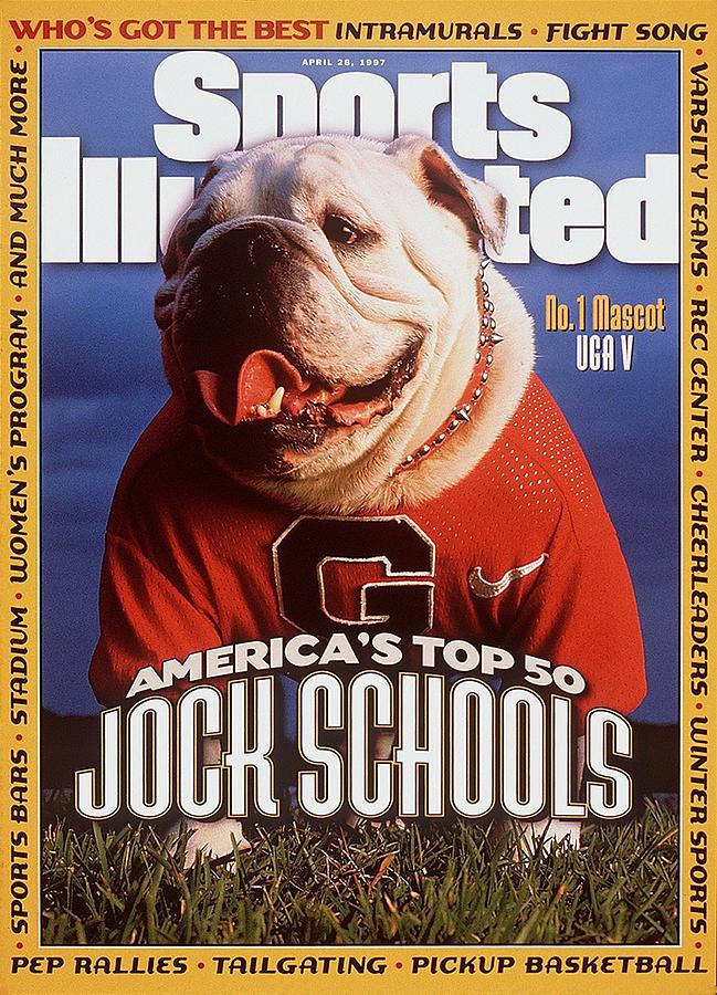 Georgia Bulldogs Mascot Uga V Sports Illustrated Cover Photograph by Sports Illustrated