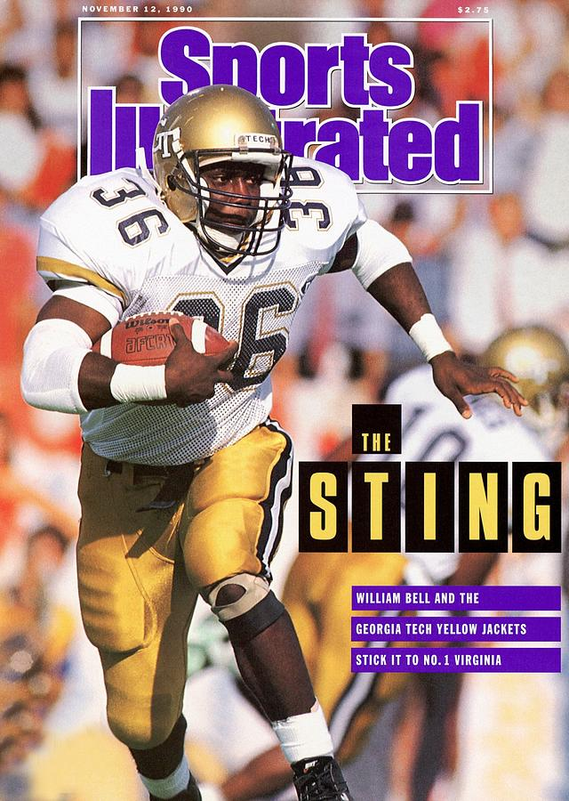 Georgia Tech William Bell... Sports Illustrated Cover Photograph by Sports Illustrated
