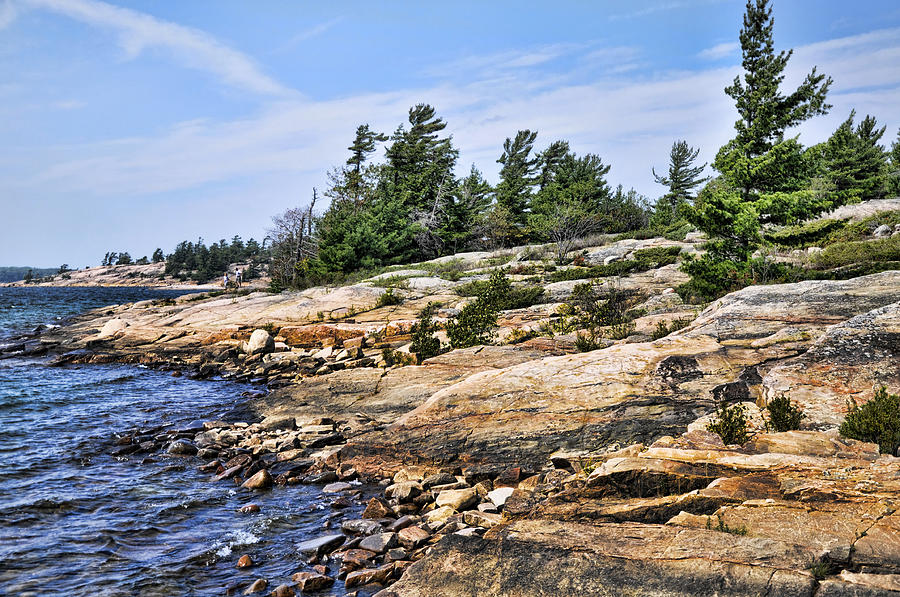 Georgian Bay Shoreline by Images By Martin Pinker