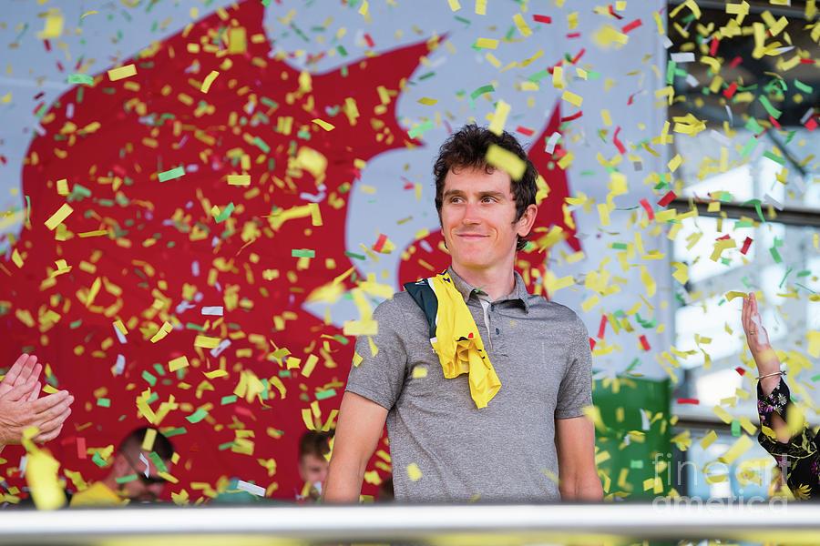 Geraint Thomas Photograph - Geraint Thomas, Welsh Cyclist, Winner Of The 2018 Tour De France, by Keith Morris