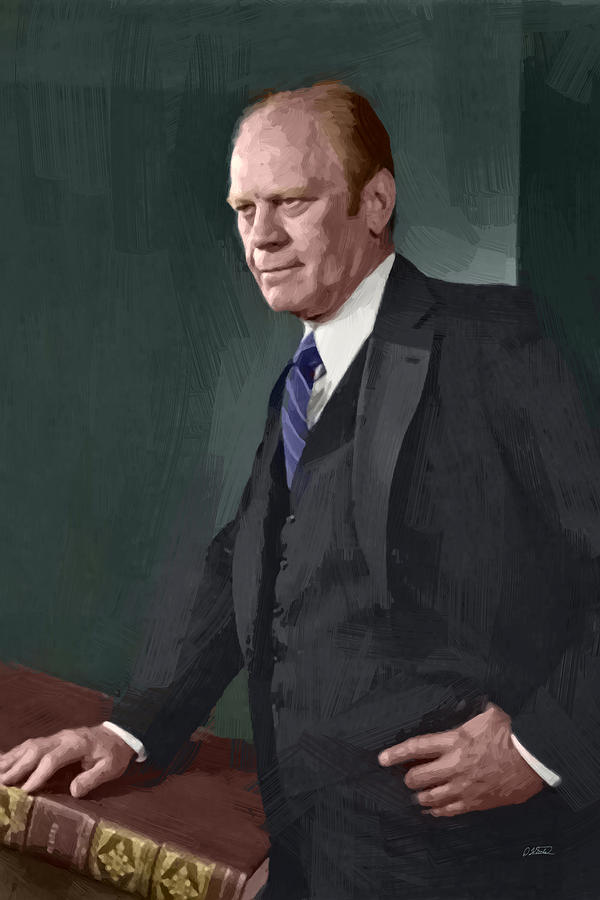 Gerald Ford - DWP1909038 by Dean Wittle