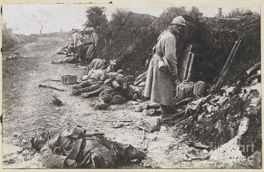 German And French Casualties Photograph by Bettmann