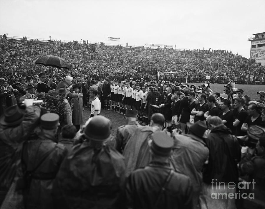 German Captain Gets World Cup Trophy Photograph by Bettmann
