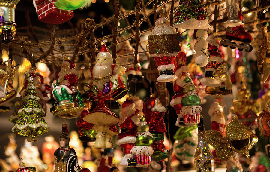 German Christmas Ornaments By Iris Richardson