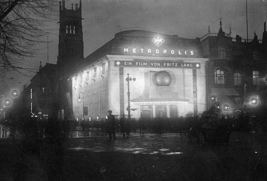 German Cinema Photograph by Hulton Archive